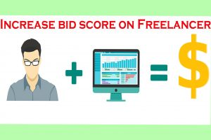 How to increase Quality Bid Score in Freelancer, how to increase bid score on freelancer.com, how to get project on freelancer.com, make money online