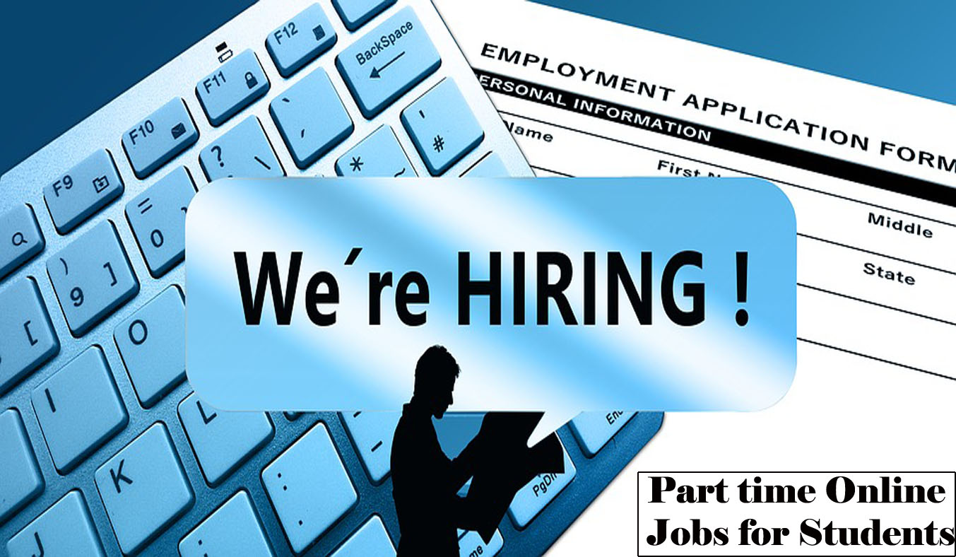 5 Best Part time Online Jobs for College Students, best jobs for students, how can students make money online, can i work part time online